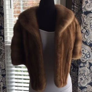 Mink Shoulder Cape
